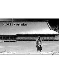 Vagabond 205: Sottaku Volume Vol. 205 by Inoue, Takehiko