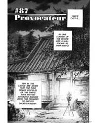 Vagabond 87: Provocateur Volume Vol. 87 by Inoue, Takehiko