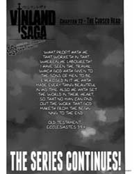 Vinland Saga 72: the Cursed Head Volume Vol. 72 by Makoto, Yukimura