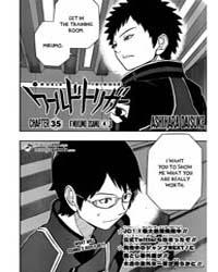 World Trigger 35: Mikumo Osamu (4) Volume No. 35 by Daisuke, Ashihara