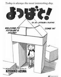 Yotsubato! 63: Yotsuba and Playing Volume Vol. 63 by Kiyohiko Azuma