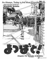 Yotsubato! 72 Volume No. 72 by Kiyohiko, Azuma