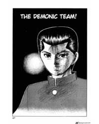 Yu Yu Hakusho 66 : the Demonic Team! Volume Vol. 66 by Togashi, Yoshihiro