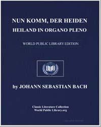 Nun Komm, Der Heiden Heiland in Organo P... by Johann Sebastian Bach