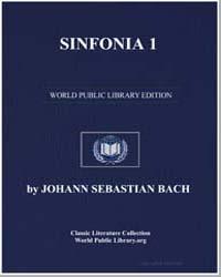 Sinfonia 1, Score Bwv787 by Johann Sebastian Bach