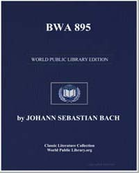 Bwa 895, Score Bwv895 by Johann Sebastian Bach