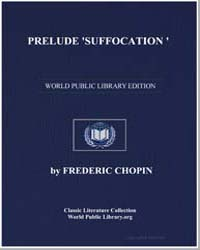 Prelude 'Suffocation ', Score Chop-28-4 by Frederic Chopin