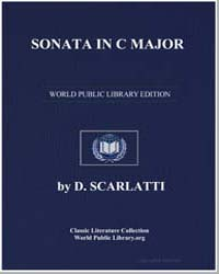 Sonata in C Major , Score Ds Sonate C by D. Scarlatti