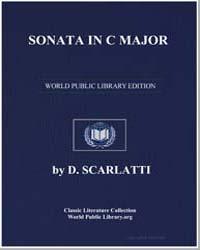 Sonata in C Major , Score Ds Sonate C by D. Scarlatti