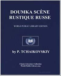 Doumka Scène Rustique Russe, Score Dumka by P. Tchaikovskiy