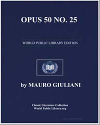 Opus 50 Number 25, Score Giuliani-op50N2... by Mauro Giuliani