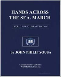Hands Across the Sea. March, Score Hands... by John Philip Sousa
