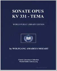 Sonate Opus Kv 331 - Tema, Score Kv331 1... by Wolfgang Amadeus Mozart