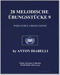 28 Melodische Übungsstücke, 9 , Score Op... by Anton Diabelli