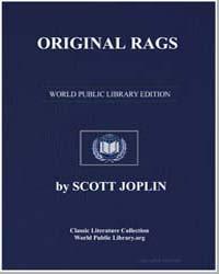 Original Rags, Score Original by Scott Joplin