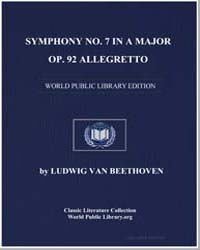 Symphony Number 7 in a Major, Op. 92 All... by Ludwig Van Beethoven