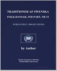 Traditioner Af Swenska Folk-dansar, 2Nd ... by Mutopia