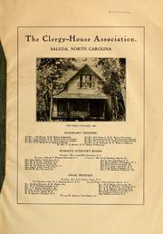 The Clergy-House Association, Saluda, No... by