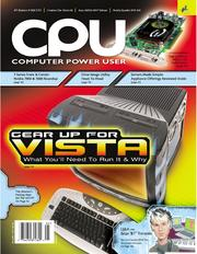 Computer Power User Volume 6 Issue 5 by Sandhills Publishing