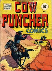 Cow Puncher Comics 001 (1947) by Avon Comics