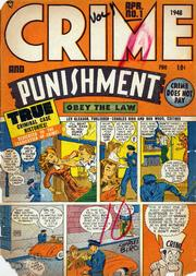 Crime and Punishment 001 by Lev Gleason Comics / Comics House Publications