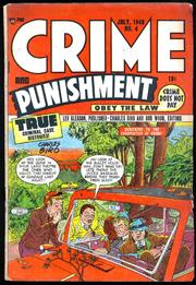 Crime and Punishment 004 by Lev Gleason Comics / Comics House Publications