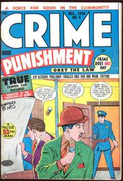 Crime and Punishment 009 by Lev Gleason Comics / Comics House Publications