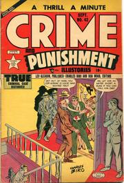 Crime and Punishment 042 by Lev Gleason Comics / Comics House Publications