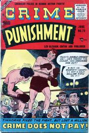 Crime and Punishment 073 by Lev Gleason Comics / Comics House Publications
