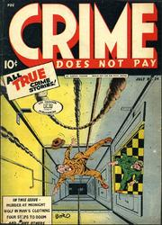 Crime Does Not Pay 034 by Lev Gleason Comics / Comics House Publications