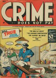Crime Does Not Pay 041 by Lev Gleason Comics / Comics House Publications