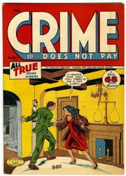 Crime Does Not Pay 045 by Lev Gleason Comics / Comics House Publications