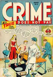 Crime Does Not Pay 049 by Lev Gleason Comics / Comics House Publications