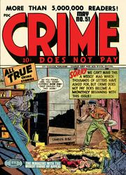 Crime Does Not Pay 051 C2C by Lev Gleason Comics / Comics House Publications