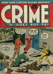 Crime Does Not Pay 052 by Lev Gleason Comics / Comics House Publications