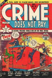 Crime Does Not Pay 082 by Lev Gleason Comics / Comics House Publications