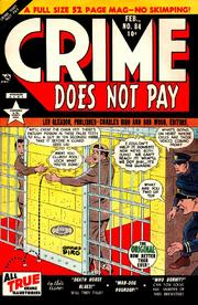 Crime Does Not Pay 084 by Lev Gleason Comics / Comics House Publications