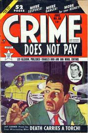 Crime Does Not Pay 088 by Lev Gleason Comics / Comics House Publications