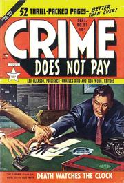 Crime Does Not Pay 091 by Lev Gleason Comics / Comics House Publications