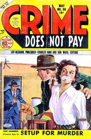 Crime Does Not Pay 098 by Lev Gleason Comics / Comics House Publications