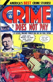 Crime Does Not Pay 119 by Lev Gleason Comics / Comics House Publications