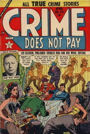 Crime Does Not Pay 121 by Lev Gleason Comics / Comics House Publications