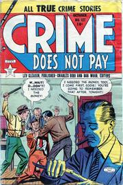 Crime Does Not Pay 127 by Lev Gleason Comics / Comics House Publications
