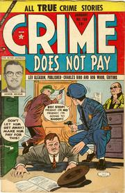 Crime Does Not Pay 130 by Lev Gleason Comics / Comics House Publications