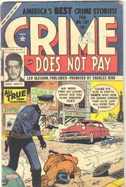 Crime Does Not Pay 131 by Lev Gleason Comics / Comics House Publications