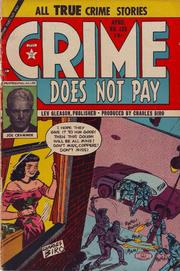 Crime Does Not Pay 133 by Lev Gleason Comics / Comics House Publications
