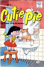 Cutie Pie 001 by Lev Gleason Comics / Comics House Publications
