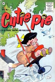 Cutie Pie 002 by Lev Gleason Comics / Comics House Publications