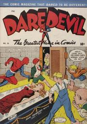Daredevil Comics 030 by Lev Gleason Comics / Comics House Publications