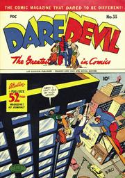 Daredevil Comics 033 by Lev Gleason Comics / Comics House Publications